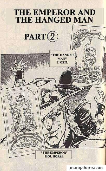 JoJo's Bizarre Adventure Part 3: Stardust Crusaders 27 Page 1