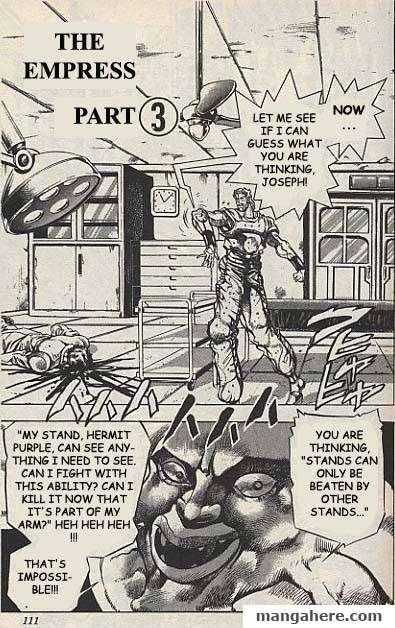 JoJo's Bizarre Adventure Part 3: Stardust Crusaders 32 Page 1