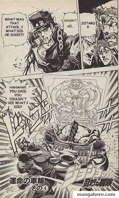 JoJo's Bizarre Adventure Part 3: Stardust Crusaders 36 Page 1