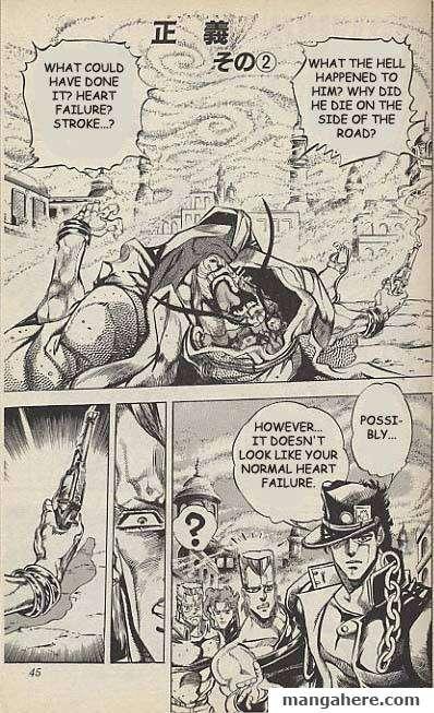 JoJo's Bizarre Adventure Part 3: Stardust Crusaders 38 Page 1