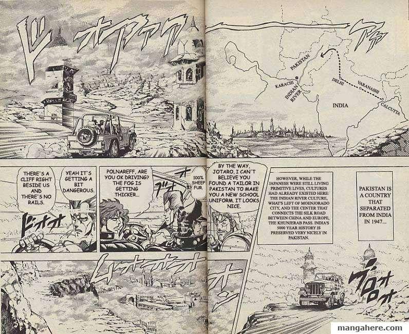 JoJo's Bizarre Adventure Part 3: Stardust Crusaders 40 Page 1