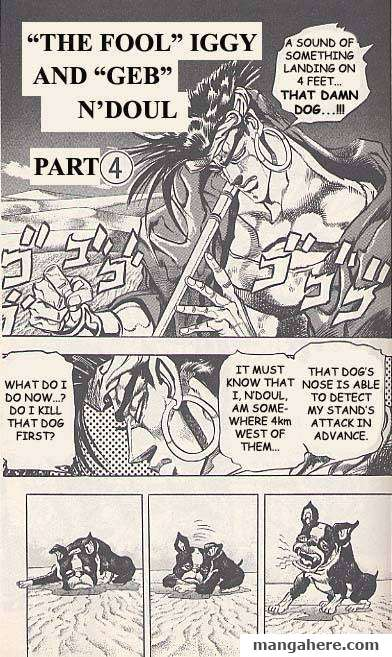 JoJo's Bizarre Adventure Part 3: Stardust Crusaders 72 Page 1