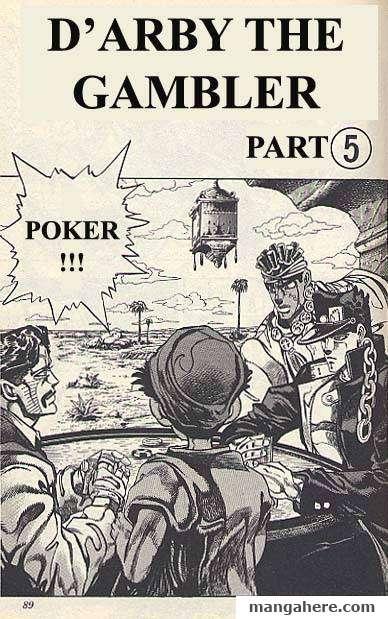JoJo's Bizarre Adventure Part 3: Stardust Crusaders 101 Page 1