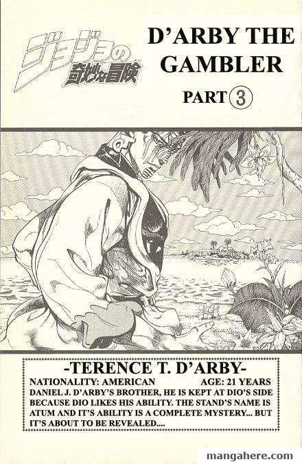 JoJo's Bizarre Adventure Part 3: Stardust Crusaders 115 Page 1