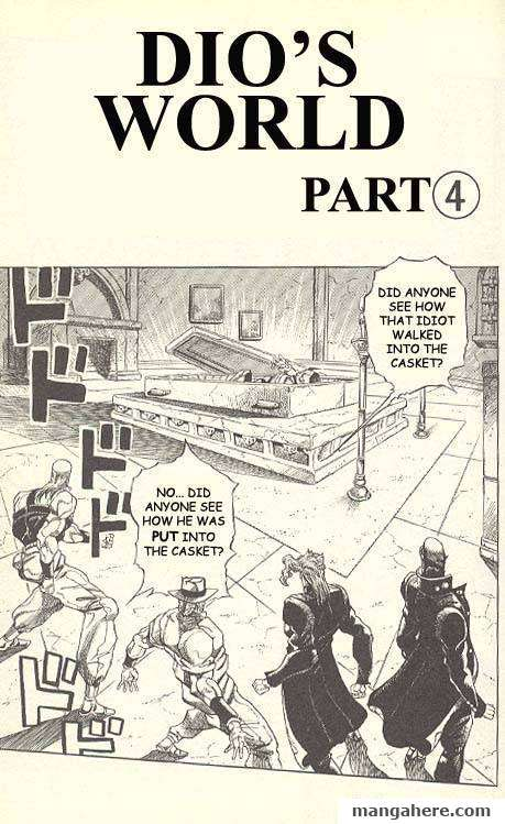 JoJo's Bizarre Adventure Part 3: Stardust Crusaders 135 Page 1