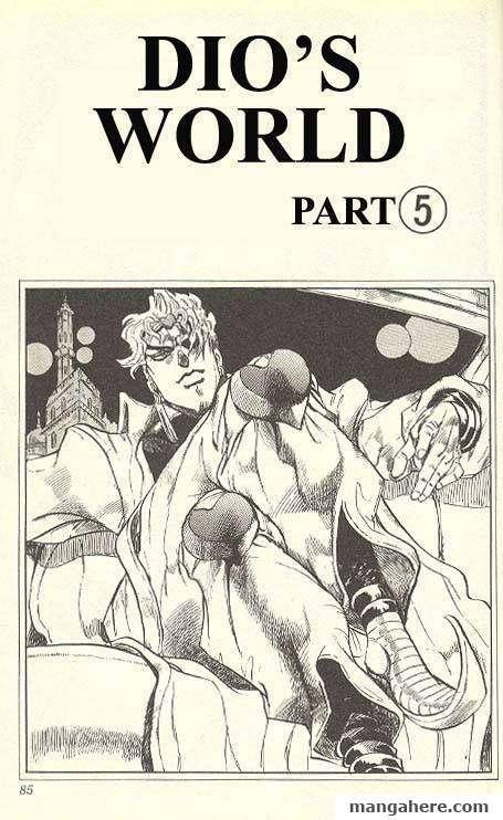 JoJo's Bizarre Adventure Part 3: Stardust Crusaders 137 Page 1