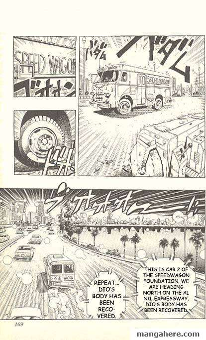 JoJo's Bizarre Adventure Part 3: Stardust Crusaders 151 Page 1