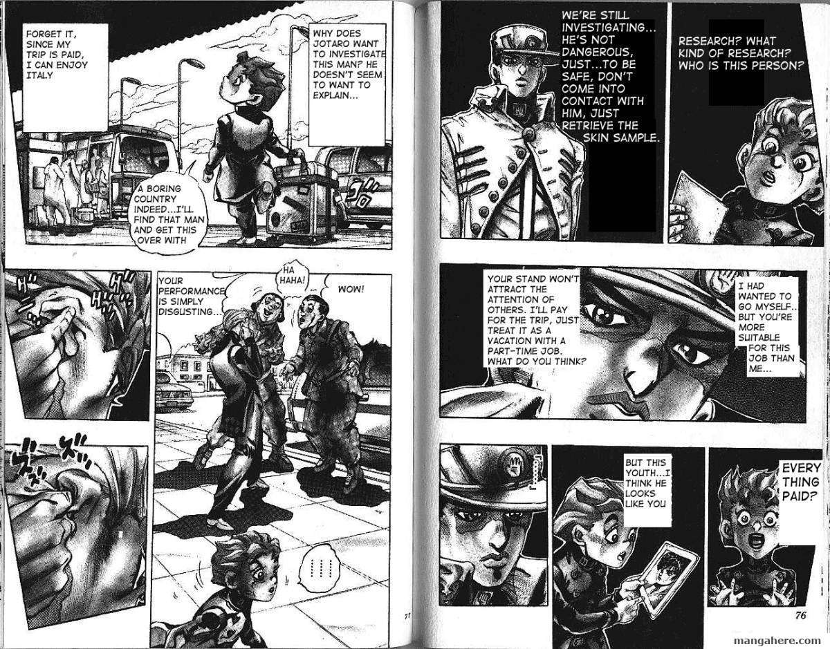 JoJo's Bizarre Adventure Part 5: Vento Aureo 1 Page 4
