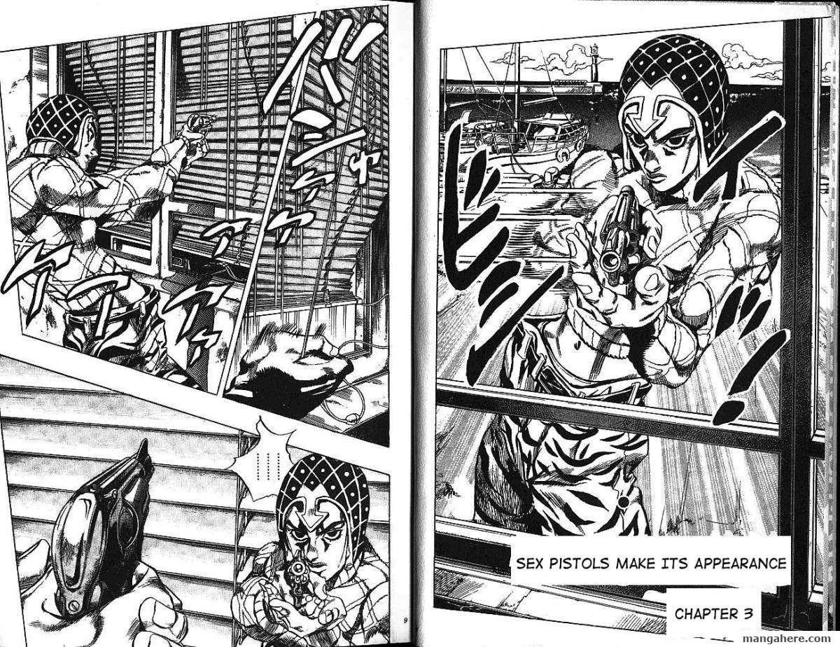 JoJo's Bizarre Adventure Part 5: Vento Aureo 4 Page 2
