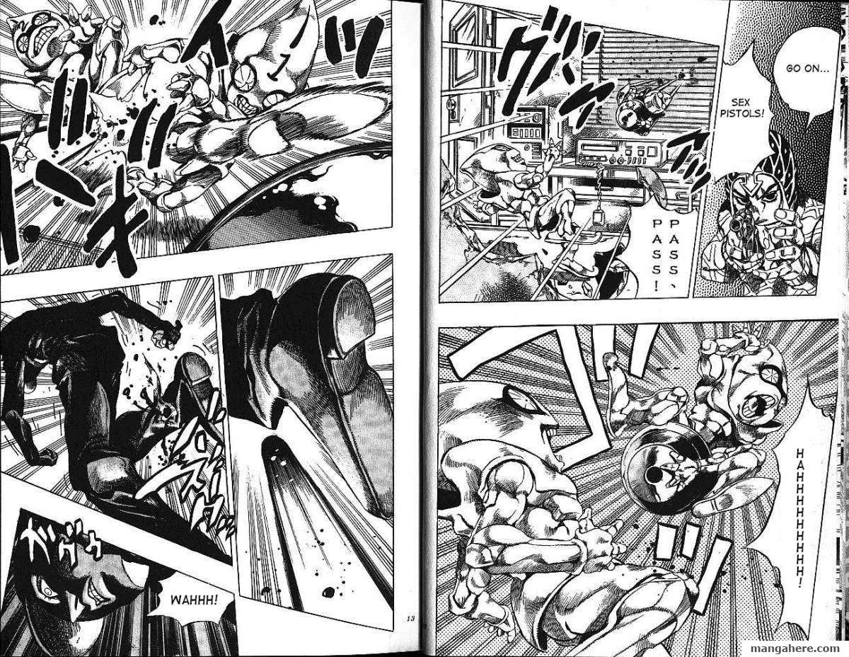 JoJo's Bizarre Adventure Part 5: Vento Aureo 4 Page 4