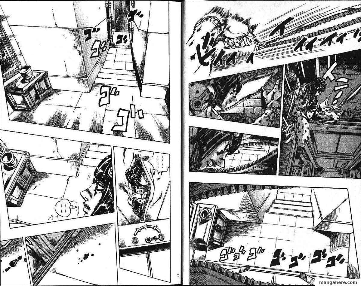 JoJo's Bizarre Adventure Part 5: Vento Aureo 10 Page 3