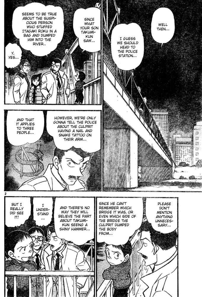 Detective Conan 552 Page 2
