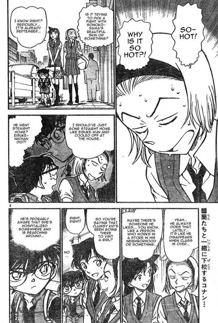 Detective Conan 582 Page 2