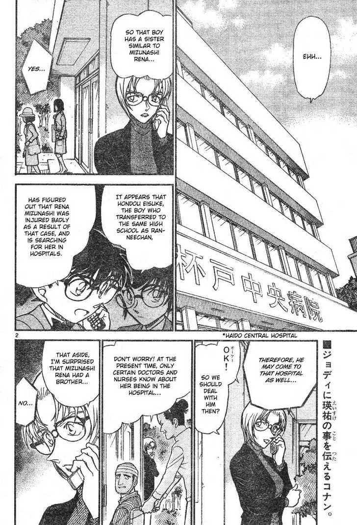 Detective Conan 587 Page 2