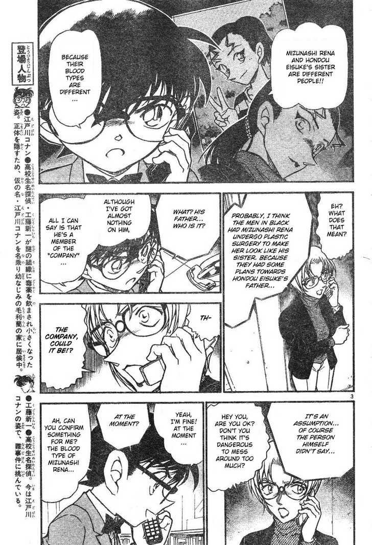 Detective Conan 587 Page 3