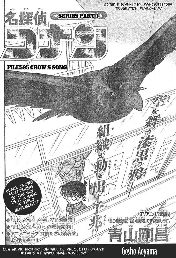 Detective Conan 595 Page 2