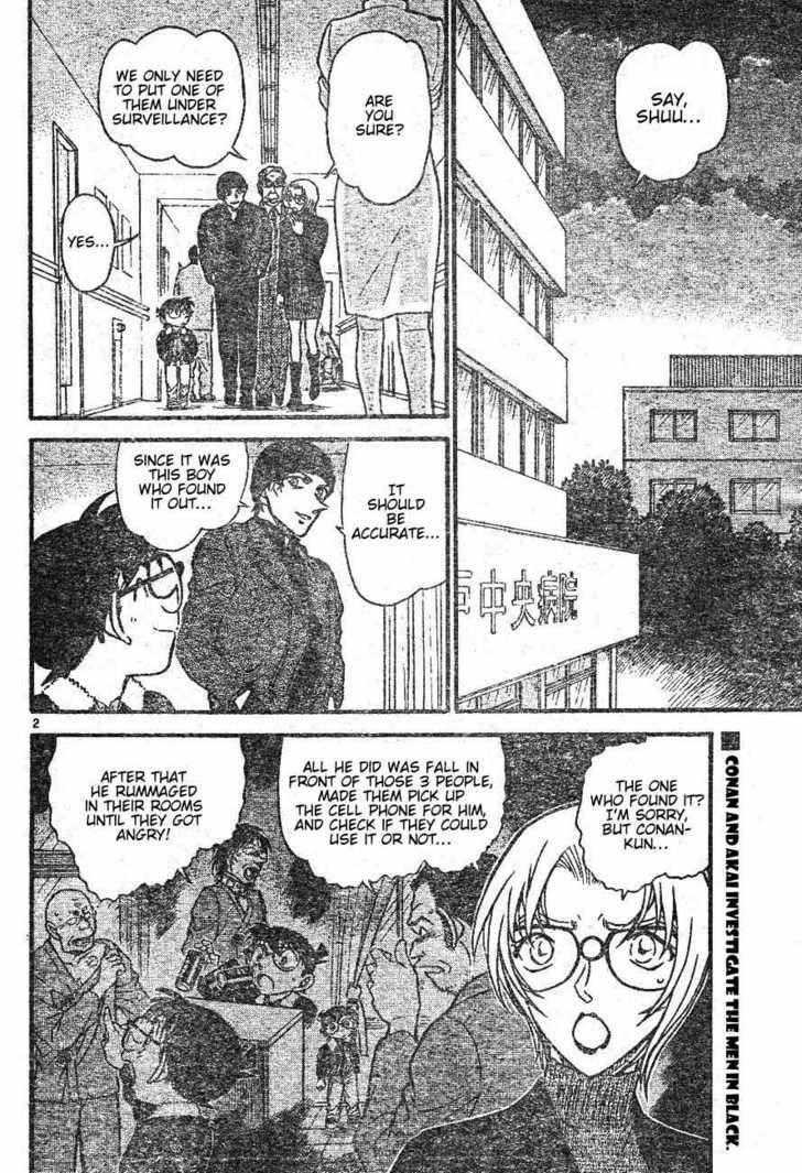 Detective Conan 598 Page 2