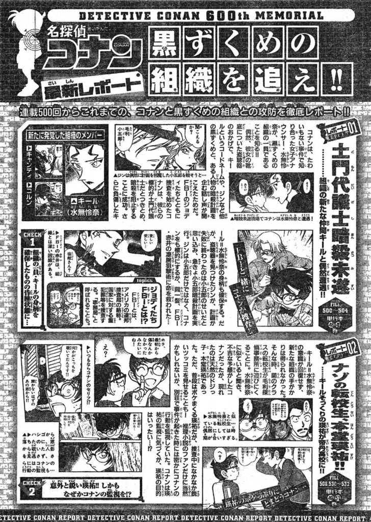 Detective Conan 599 Page 1