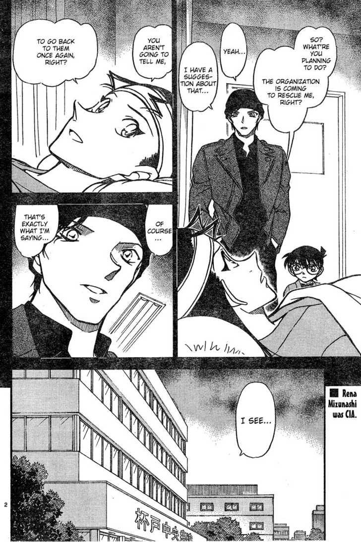 Detective Conan 605 Page 2