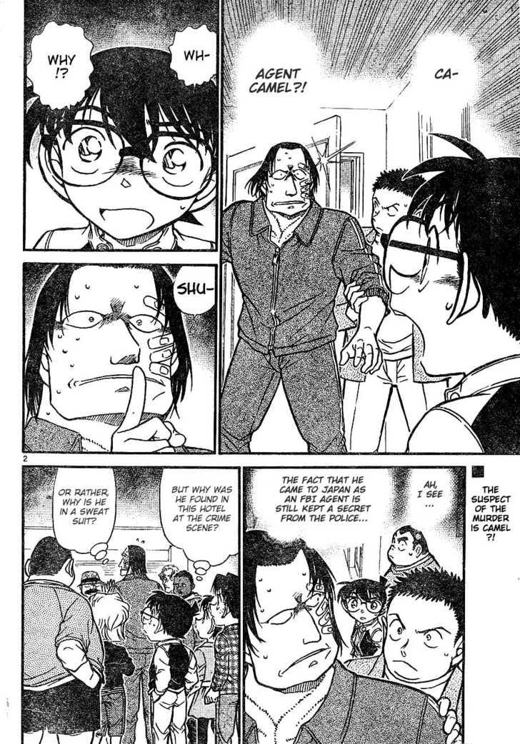 Detective Conan 606 Page 2
