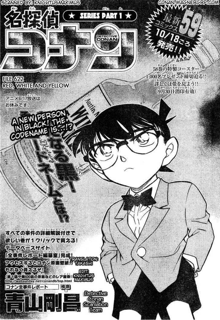 Detective Conan 622 Page 1
