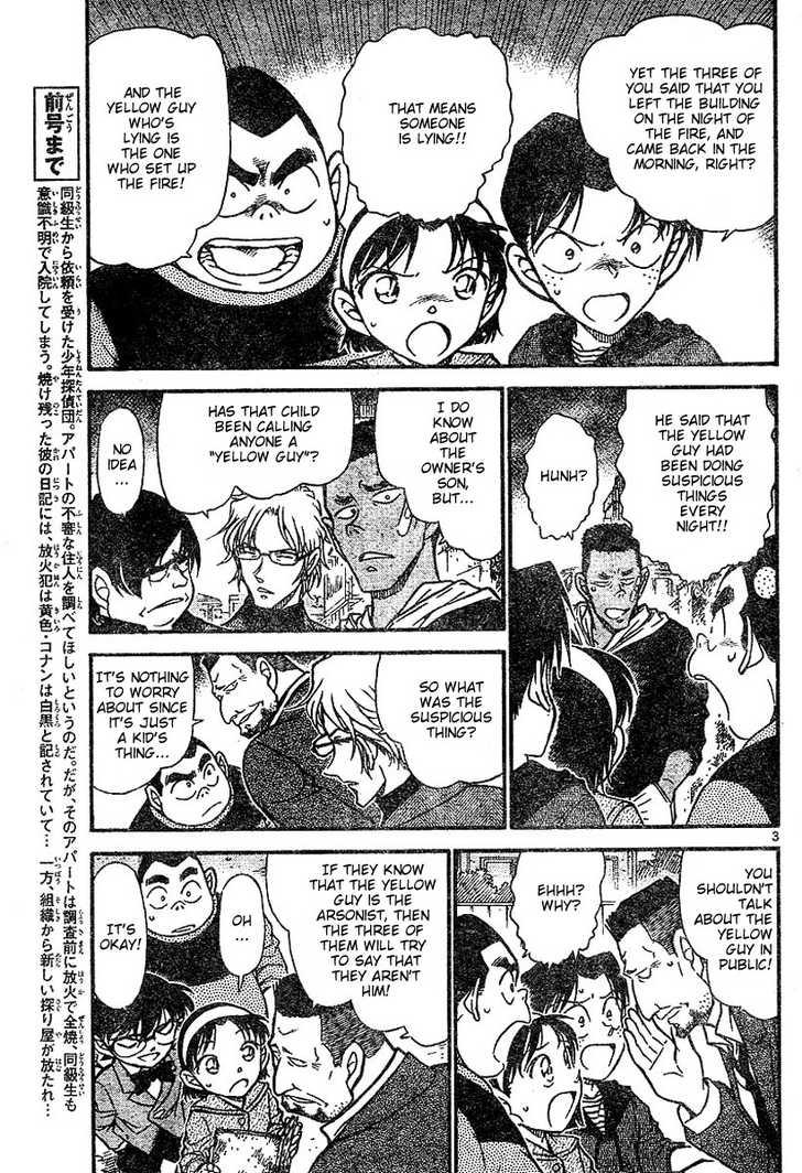 Detective Conan 624 Page 3