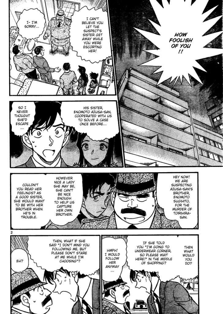 Detective Conan 642 Page 2