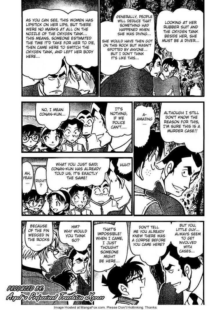 Detective Conan 665 Page 3