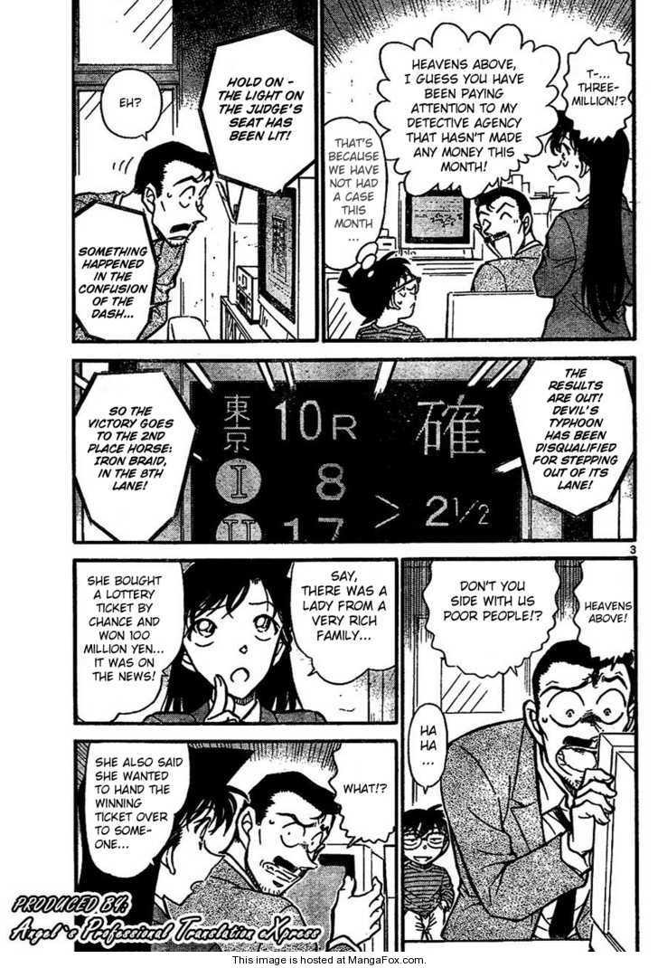 Detective Conan 667 Page 3