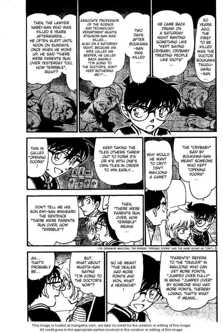 Detective Conan 672 Page 3