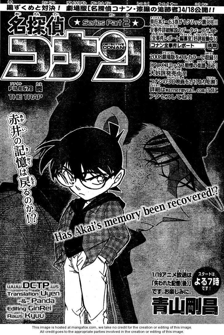 Detective Conan 678 Page 1