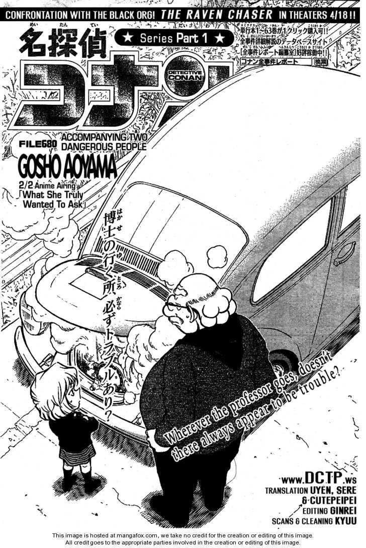 Detective Conan 680 Page 2