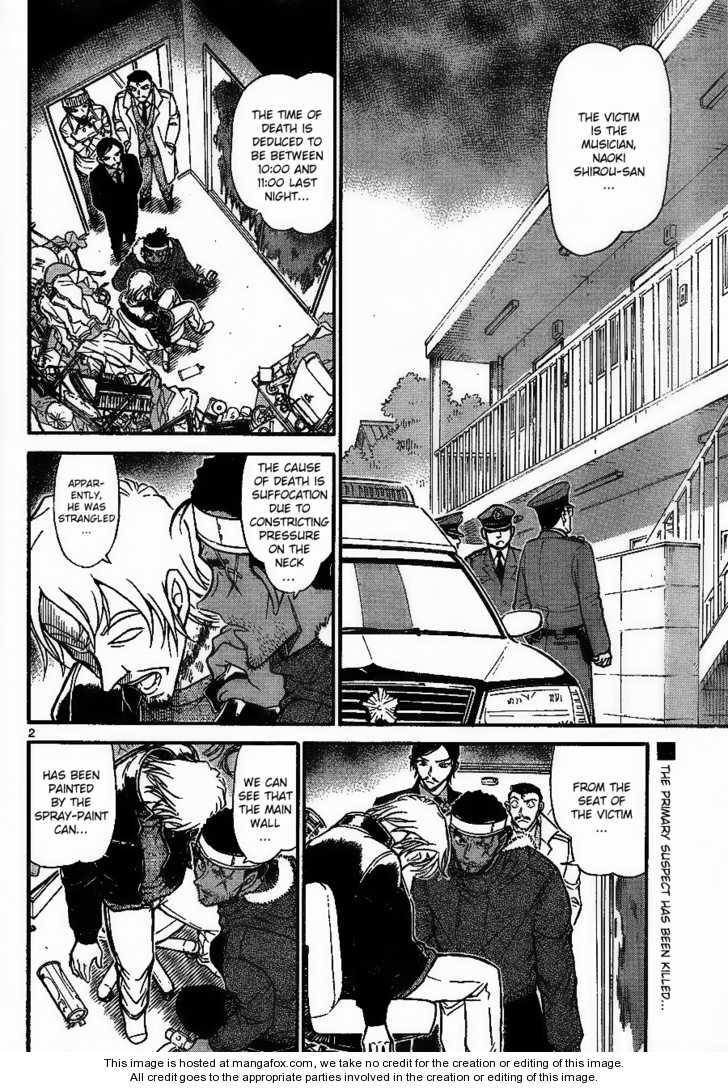 Detective Conan 684 Page 2
