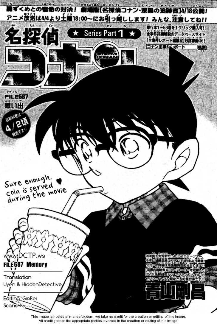 Detective Conan 687 Page 1