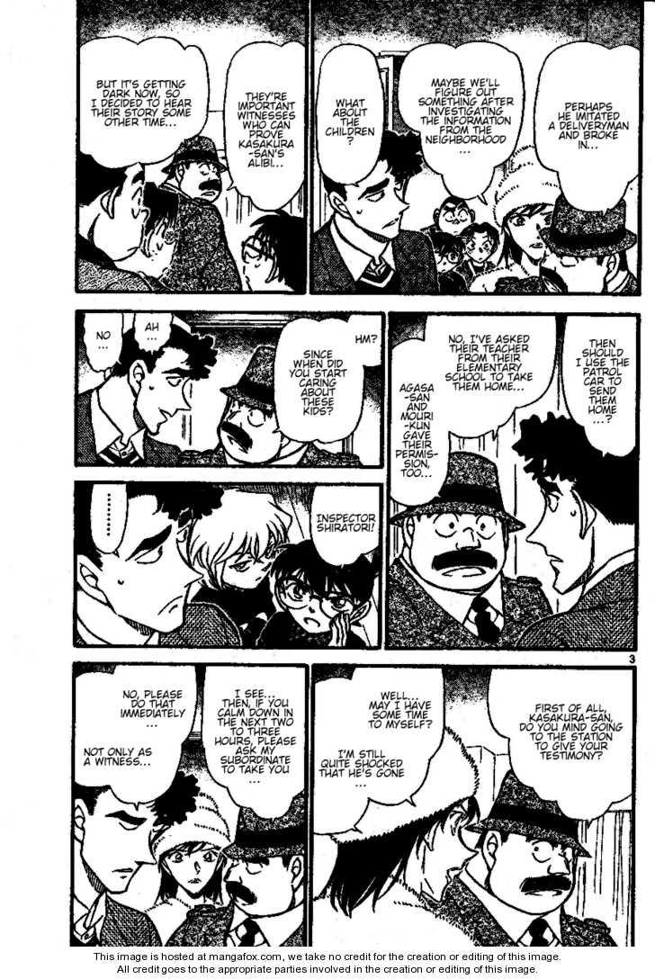 Detective Conan 689 Page 3