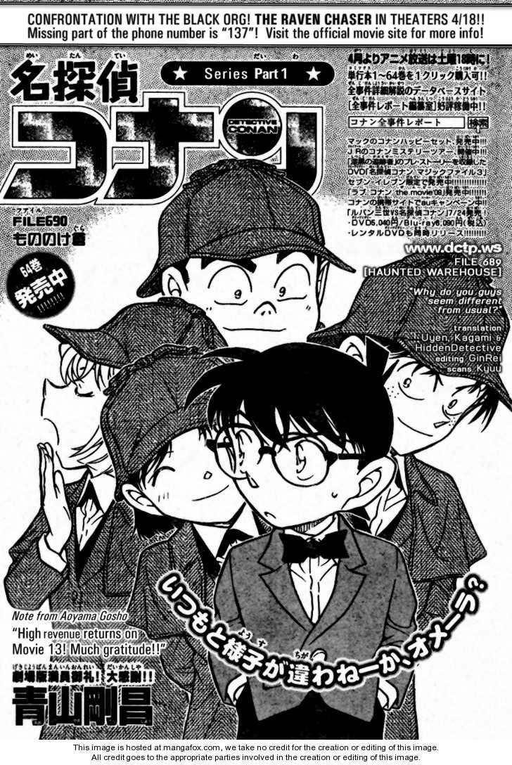 Detective Conan 690 Page 1