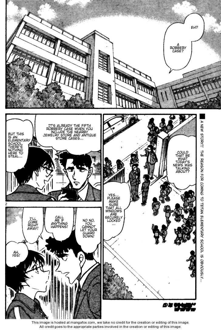 Detective Conan 690 Page 2