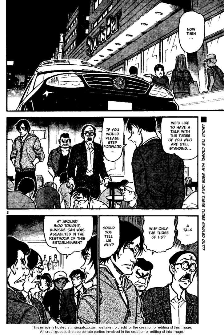 Detective Conan 694 Page 2