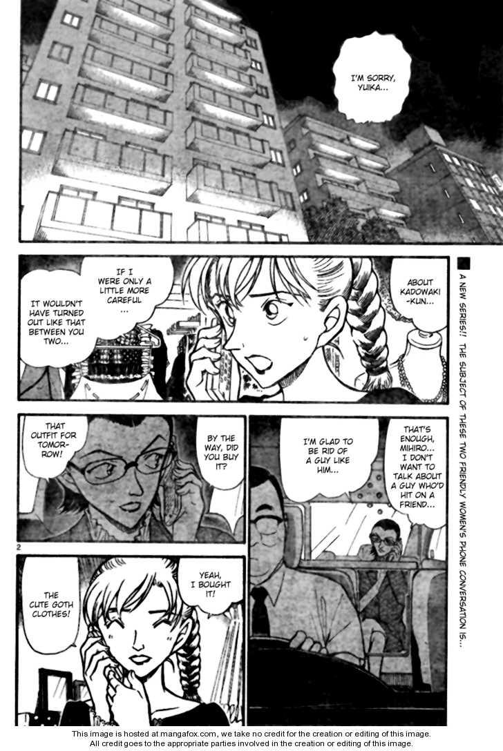 Detective Conan 696 Page 2