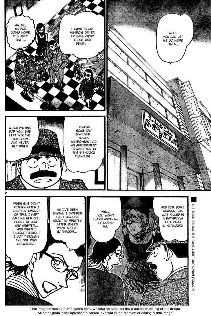 Detective Conan 698 Page 2