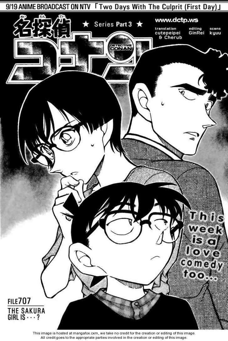 Detective Conan 707 Page 1