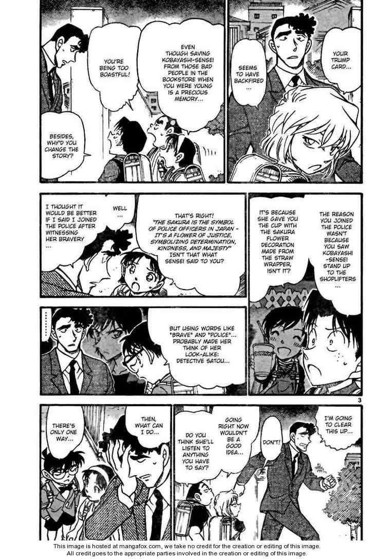 Detective Conan 708 Page 3