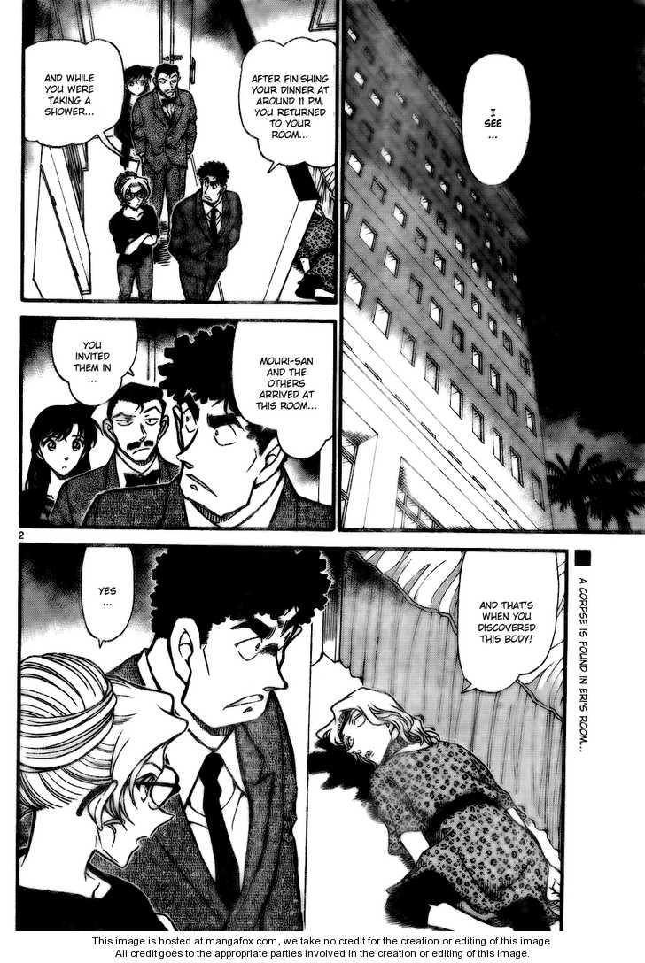 Detective Conan 710 Page 2