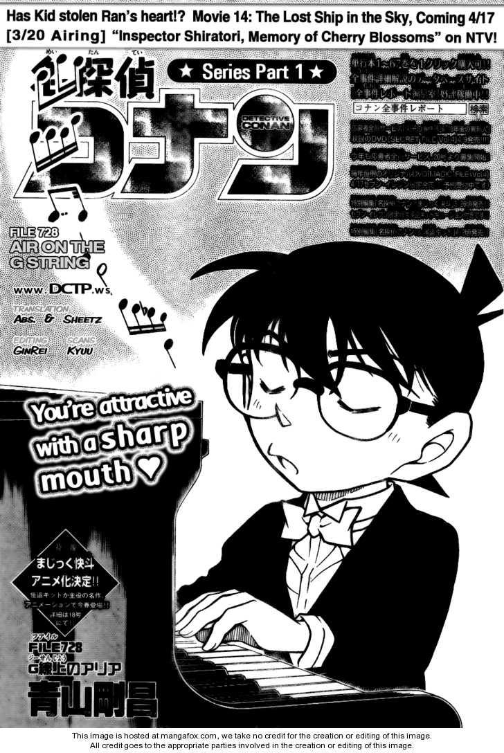 Detective Conan 728 Page 1