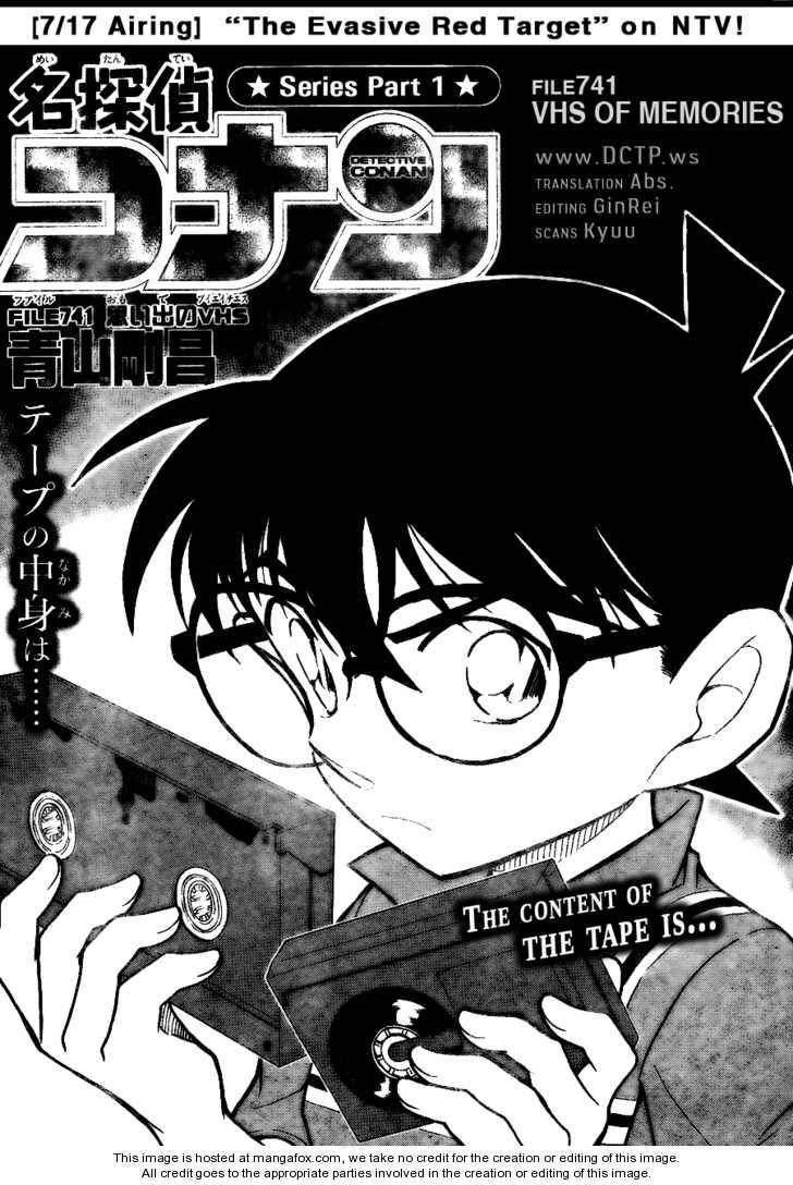 Detective Conan 741 Page 1