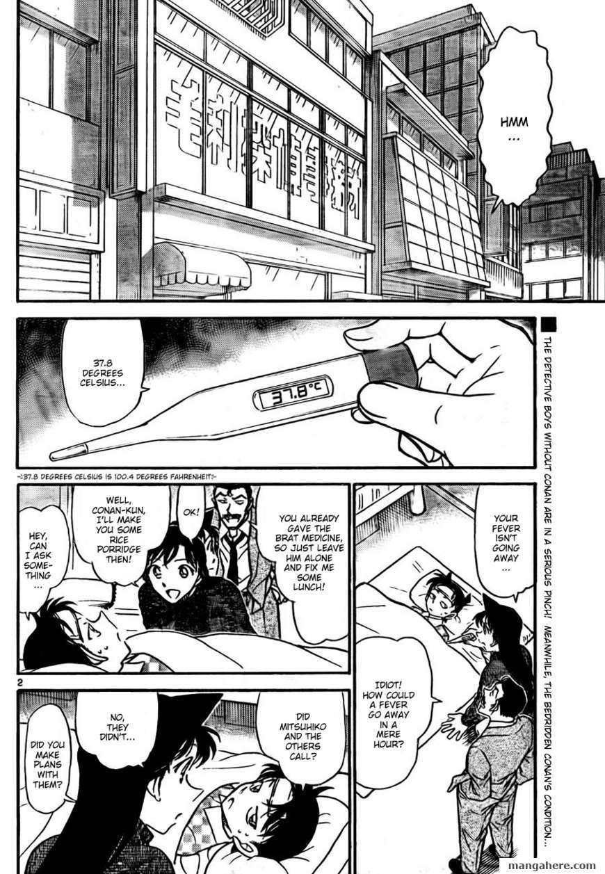 Detective Conan 760 Page 2