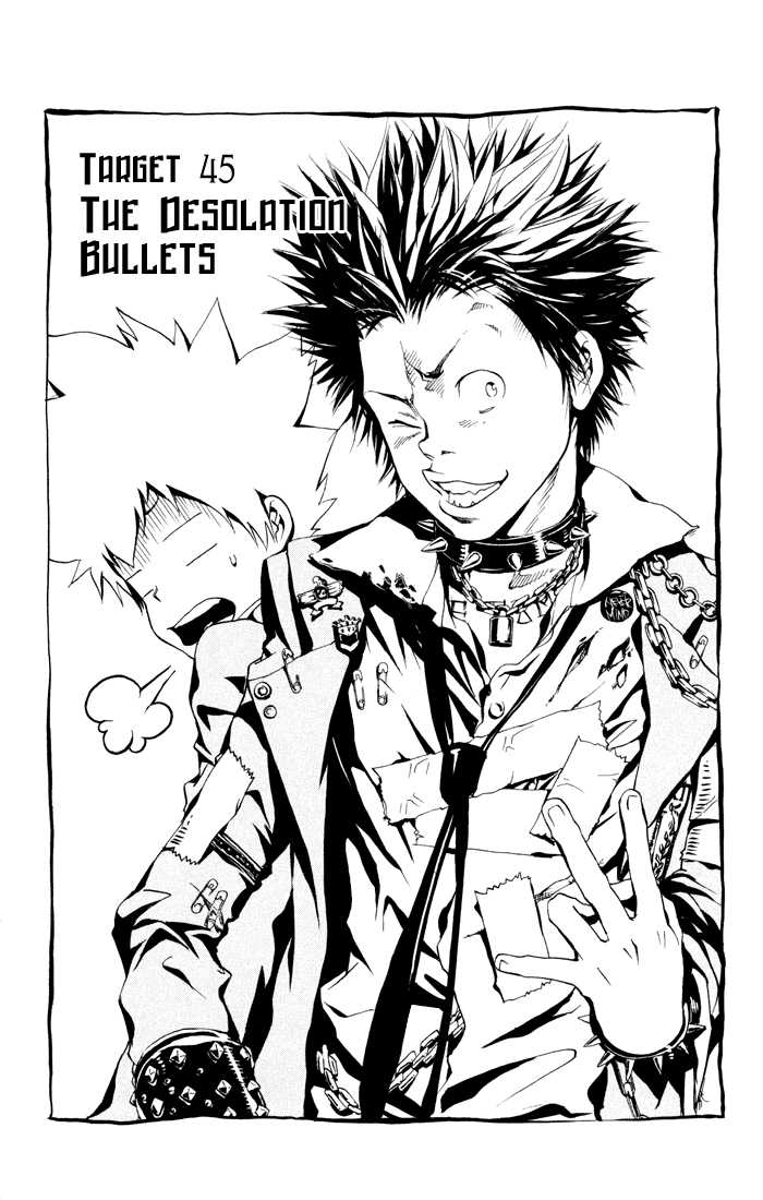 Katekyo Hitman Reborn 45 Page 3