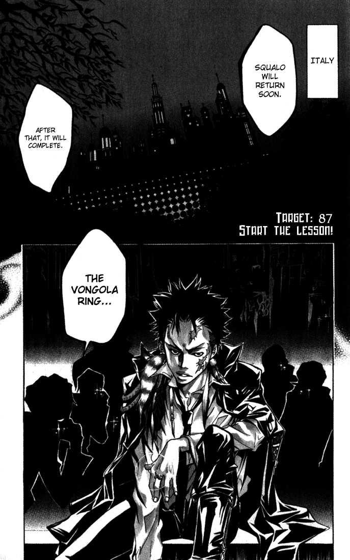 Katekyo Hitman Reborn 87 Page 1