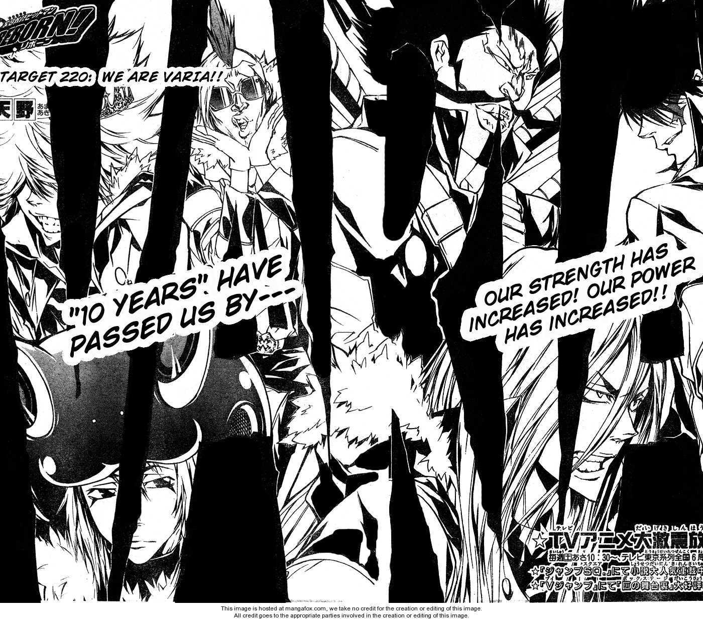 Katekyo Hitman Reborn 220 Page 2