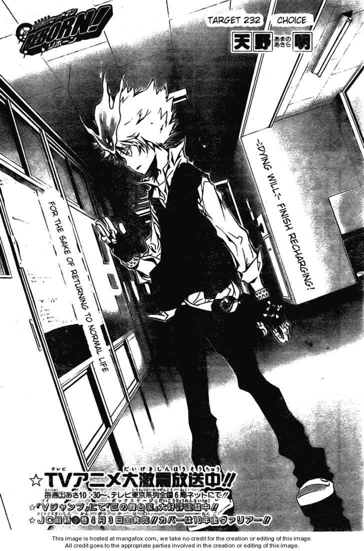 Katekyo Hitman Reborn 232 Page 1